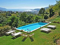 Villa Ambrosia with Pool, free WiFi, BBQ sea view near to Beaches & Cinque Terre