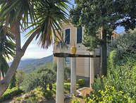 VILLA LE PALME 18P, with private pool free WiFi sea view near Cinque Terre