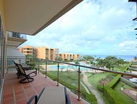 BEACHFRONT - EAGLE BEACH - OCEANIA RESORT - Aqua Vista 3BR condo - A347