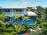 Pelican Nest  Cinnamon Villa - 300 ft. of private beach on Grace Bay