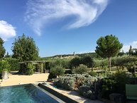 LS6-319-BELORI Beautiful provencal Mas with swimming pool close to Avignon