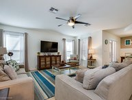 Lovely 4BR 3Bth Home w/South Facing Pool & Spa and Gameroom 5 Miles From Disney