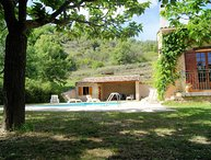 Holiday home in Riez near Verdon canyon, pool, jacuzzi, pet allowed