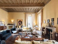 Rome, an Aristocratic apartment in Historic Palace near the Piazza Navona