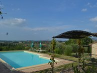 3 bedrooms private villa only 3 km to San Gimignano. Swimming pool and Wi-Fi