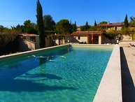LS1-323 FAMIHO Beautiful rental in Provence with swimming pool and sauna