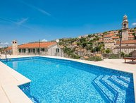 Rustic villa with pool for rent Lozisca Brac
