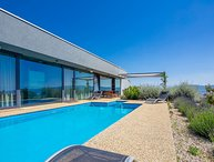 Modern villa with pool for rent Krk