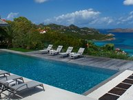 Villa Wine Note | Ocean View - Located in Exquisite Saint Jean with Private Po
