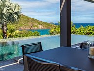 Villa Eden House | Ocean View - Located in Stunning Marigot with Private Pool