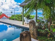 Villa Grain De Folie | Ocean View - Located in Tropical Colombier with Private