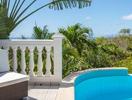 Villa Sunrock | Ocean View - Located in Fabulous Colombier with Private Pool
