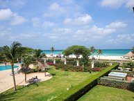 BEACHFRONT - EAGLE BEACH - OCEANIA RESORT - Royal Aquamarine 3BR condo - BC252
