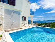 Sea view villa with pool for rent Slano Dubrovnik