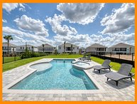 Encore Resort 564 - 5* villa with private pool and spillover tub near Disney