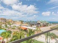 BEACH VIEW - EAGLE BEACH - LEVENT RESORT - Vista del Mar 2BR condo - LV309
