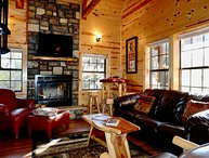 The Branson Cabin is a great cabin for a couple or a small family.