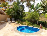 Casita Agua Dulce - Ocean view, five minute walk to the beach! - San Pancho
