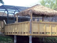 The Lakehouse, Pool, Hot Tub, Games Room Tiki Hut