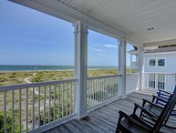 Bellamy House – Getaway to this Wrightsville Beach oceanfront classic cottage