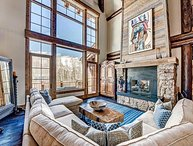 Luxury 7 Bedroom Bachelor Gulch Estate with Theater, Fitness, Massage Room