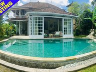 Magic, spacious 2.5 bed villa, jungle views, Ubud