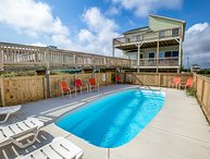 Derrycon | Oceanfront | Dog Friendly, Private Pool, Hot Tub | Nags Head
