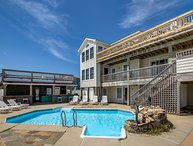 Cinco Palmas | Oceanfront | Dog Friendly, Private Pool, Hot Tub | Nags Head