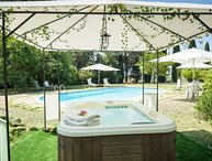 Villa Papale, classic Tuscan accommodation with pool and Jacuzzi