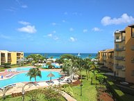 BEACHFRONT - EAGLE BEACH - OCEANIA RESORT - Paradise View 2BR condo - A346