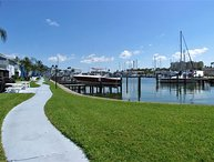 Waterfront & Updated Madeira Beach Ground Floor Condo! Walkable!