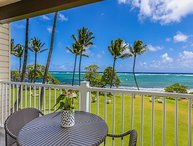 Kapaa Shore Resort #202, Oceanfront near beaches, shops, restaurants & biking