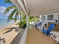 Comfortable Beachfront Home - Aquamarine