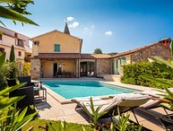 Countryside pool villa for rent in Motovun, Istria