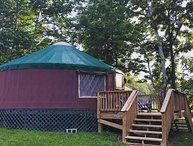 Waterfront / Shenandoah River- GLAMPING-YURTS/pet friendly-tube/kayak/canoe/Fish