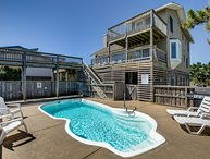 Duck Vue | Oceanfront | Private Pool, Hot Tub, Dog Friendly | Duck