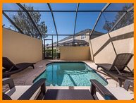 Windsor Hills Resort 385 - 5* townhouse with private plunge pool, near Disney
