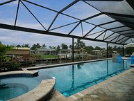 Villa Palms at Mayfair, Cape Coral - Pool, Whirlpool and fast Gulf Access