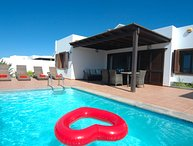 Villa with air con in bedrooms in Playa Blanca LVC333046