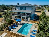 Duck Dreams | Oceanfront | Private Pool, Hot Tub, Dog Friendly | Duck