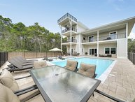 Rising Tide: Low Winter Rates! Golf Cart Included, 6 King Suites, Private Pool!