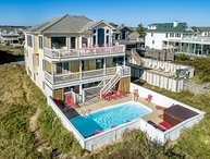 Goldirocks | Oceanfront | Private Pool, Hot Tub | Nags Head