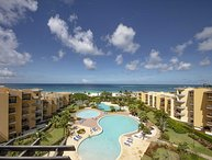 BEACHFRONT - EAGLE BEACH - OCEANIA RESORT - Best View Penthouse 4BR condo