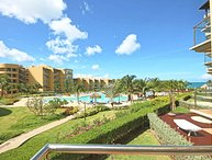 BEACHFRONT - EAGLE BEACH - OCEANIA RESORT - Ambiente Elegante 2BR condo - BC256