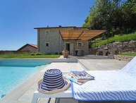 VILLA VIRGINIA 6Pax, Pool, WI-FI, Bocce court, Panoramic view, near to 5 Terre
