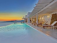 BlueVillas | Villa Concordia | Private infinity pool & bar for friends or family