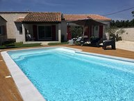 LS1-312 CLARTA Very nice house with pool Mouries in Alpilles
