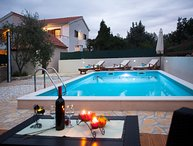Villa with pool for rent Rogoznica Trogir
