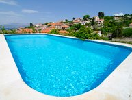 Seaview villa with private pool on Island Brac