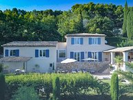 Exceptional heated villa in a magnificent park, in Seillans, Var